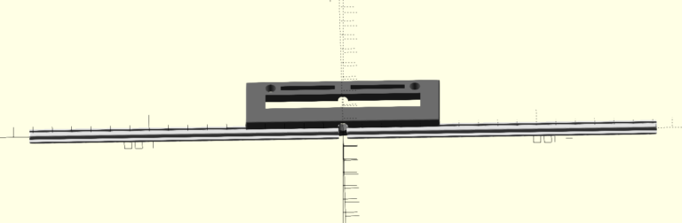 3D Printable Parametric Dipole Antenna t-slot Element Holder Overview Opposite