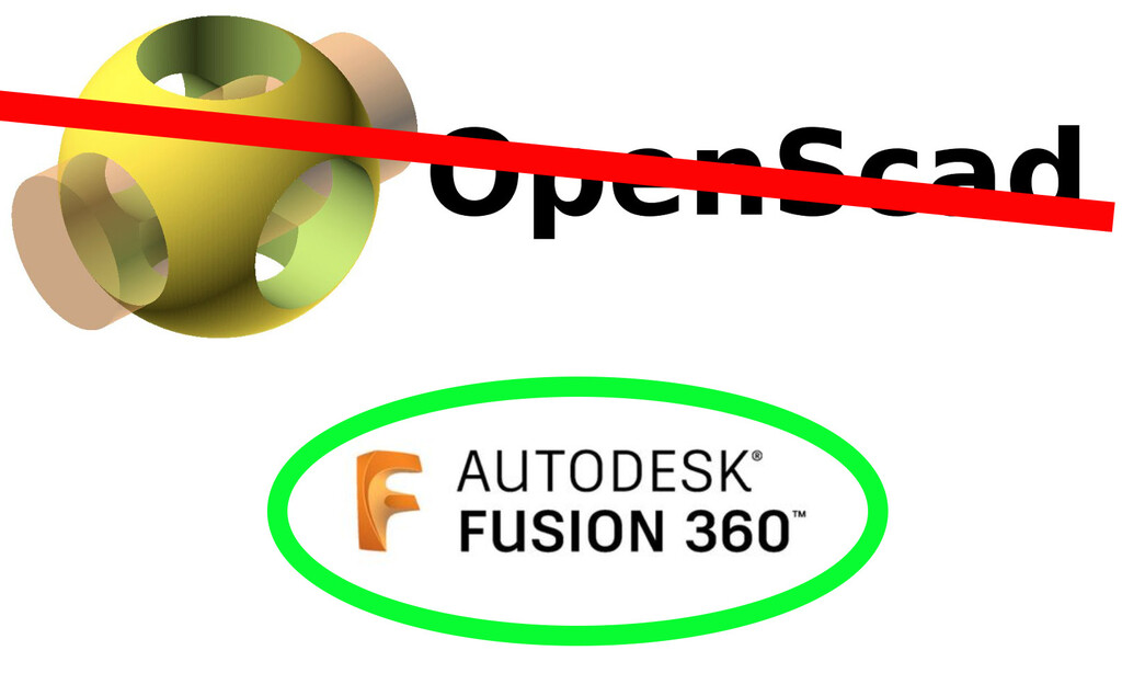 Switching from OpenSCAD to Fusion 360